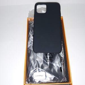 NIB iPhone 11 silicone case 5.8in black